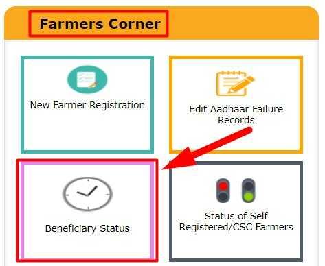 Uttar Pradesh Kisan Beneficiary Status check for PM Kisan Samman Nidhi Yojana