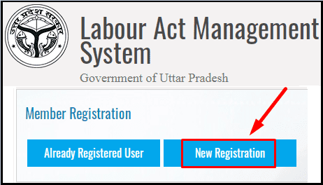 Uttar Pradesh Labour Registration on uplabouracts.in Portal